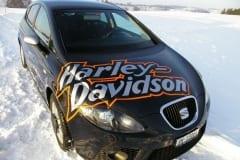 Folienbeschriftung Auto mit Logo