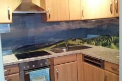 Küchenrückwand mit Bild Landschaft vom Dobratsch