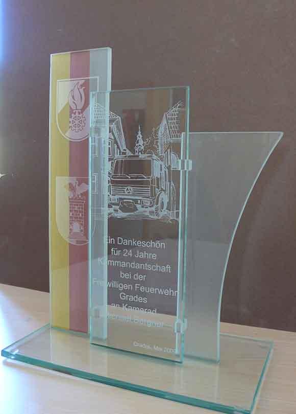 Auszeichnung Freiwillige Feuerwehr